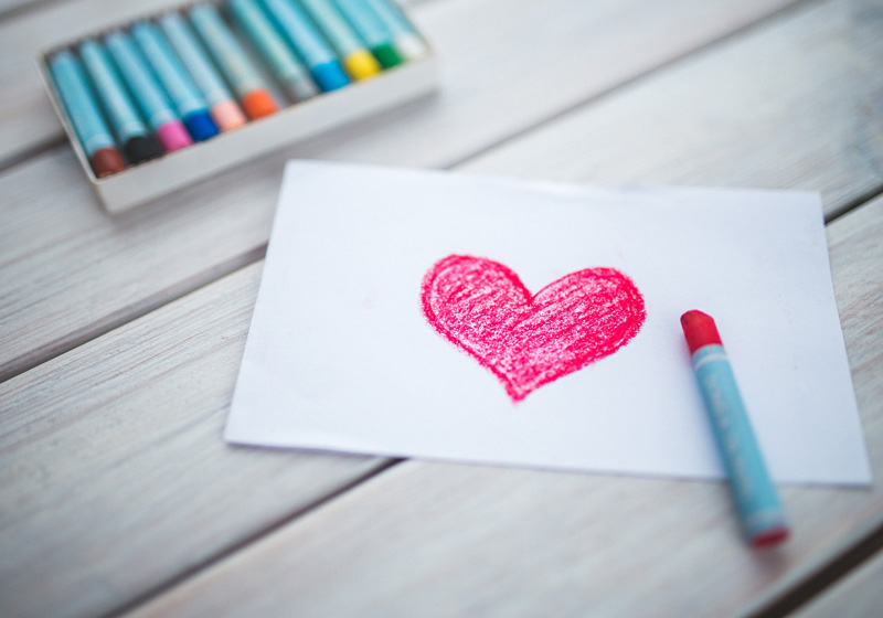 Learn how arts and crafts help children cope with grief after the loss of a loved one.