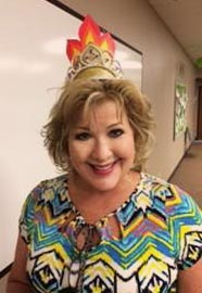 Ms. Jo Carolyn Chambers is crowned Crossroads Chili Queen at the Crossroads Kids chili cookoff fundraiser!