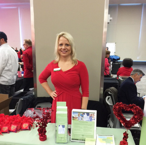 We're proud to support the American Heart Association's Go Red for Women initiative at the 2016 Cleveland Ohio Women's Health Expo and Luncheon!