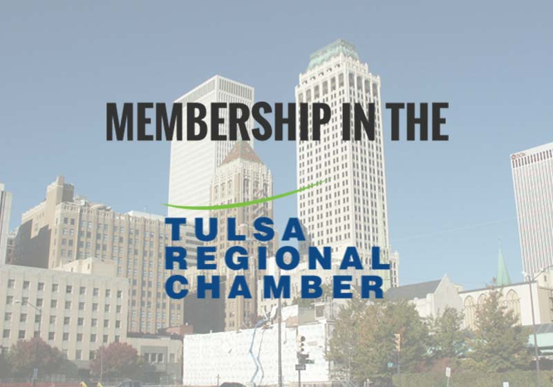 Crossroads Hospice Charitable Foundation is proud to be a member of the Tulsa Regional Chamber of Commerece.